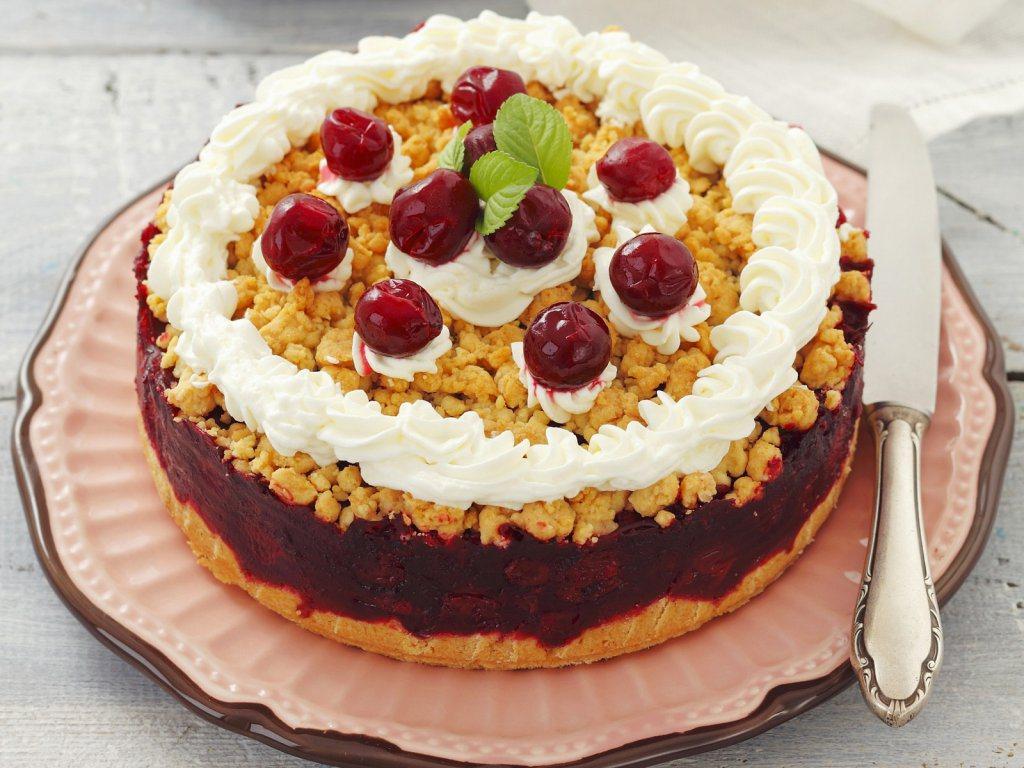 вишнёвый-пирог
