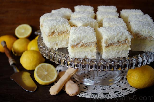 Ciasto kokosowo cytrynowe (2)