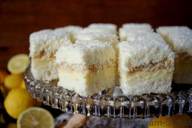 Ciasto kokosowo cytrynowe (3)
