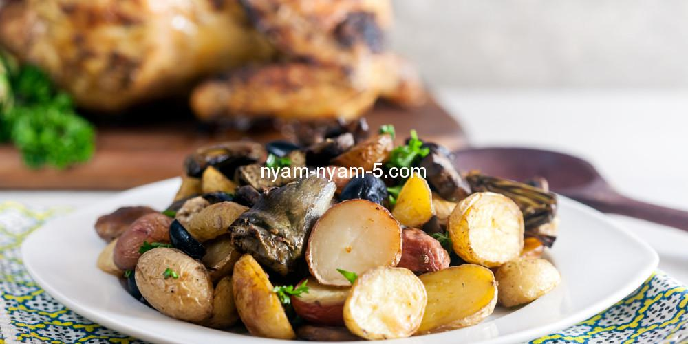 Roast-Potatoe-with-Artichokes-Mushrooms-and-Olives-1000x500