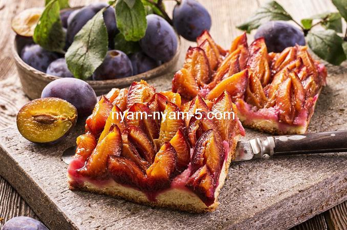 plum pastry