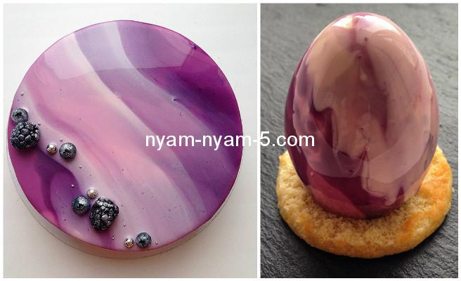 diy-mirror-glaze-cake-marble-decorating-by-olga-fabartdiy